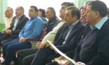 Глава Ассоциации болгар Антон Киссе побывал в Белгороде-Днестровском на вечере памяти бессарабского поэта