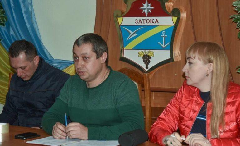 Поселковый совет Затоки отстранил от должности мэра Звягинцева