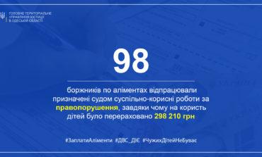 В Одесской области должников алиментов привлекли на общественные работы