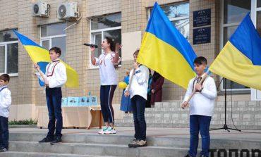 В Болграде поддержали пленных украинских моряков