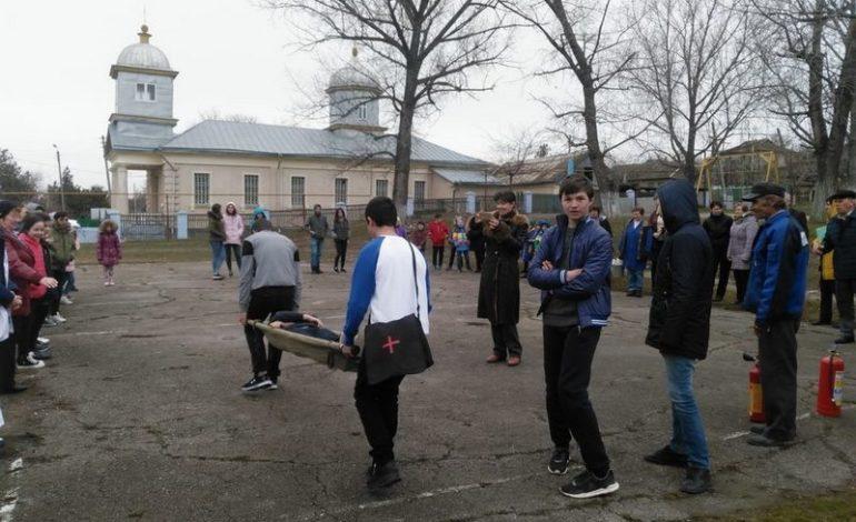 По соседству: в украинском селе Гагаузской автономии учились реагировать на землетрясение