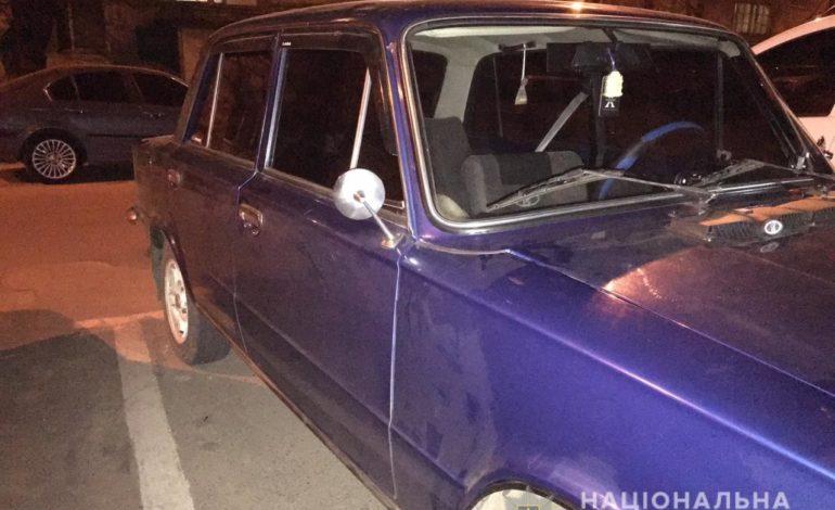 В Одессе «на горячем» поймали автоугонщика