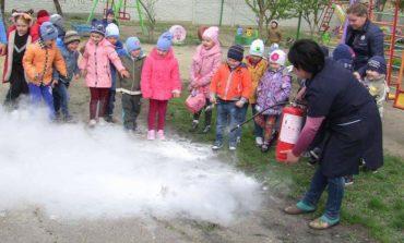 Противопожарные учения: в Арцизском районе детей эвакуировали из детского сада
