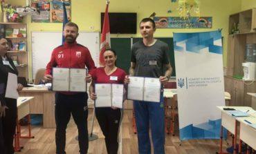 Учитель физкультуры Тарутинского УВК в тройке лучших в Одесской области