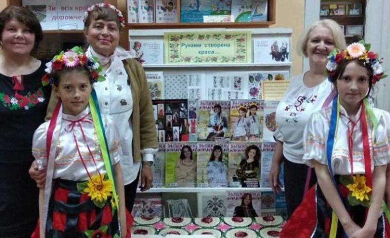 В Болграде детям рассказали о вышиванке