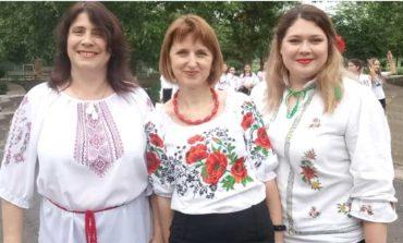 Флешмоб в вышиванках в Болграде все же состоялся