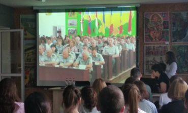 Арцизским старшеклассникам рассказали о профессиях полицейского и пограничника