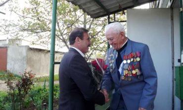 Антон Киссе поздравил ветеранов Тарутинского района с Днем Победы