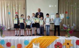 В Тарутинской школе чествовали, награждали дипломами и грамотами одаренных детей