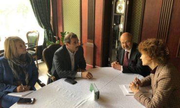 Антон Киссе обсудил с европейскими дипломатами Закон о государственном языке