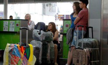 В аэропорту Львова задерживаются вылеты в Египет