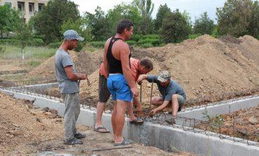 В Вишневом Татарбунарского района стартовало строительство новой амбулатории и квартиры для врача