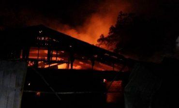 В результате пожара в психбольнице на Воробьева погибли пациенты и медсестра (фото)