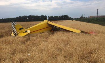 В Полтавской области упал легкомоторный самолет, один человек погиб