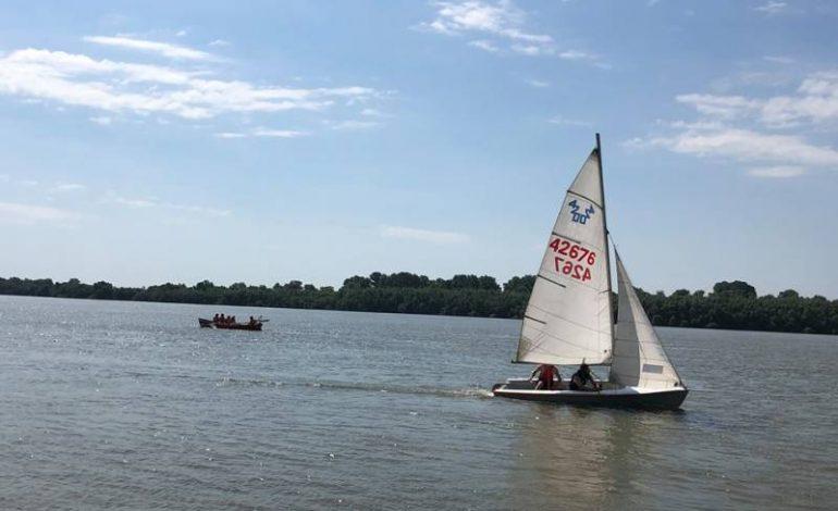 В День флота на Дунае состоялась Первая измаильская открытая парусно-гребная регата