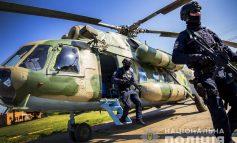 Нацполиция привлекла к обеспечению правопорядка на выборах отряды авиа-поддержки (фото)