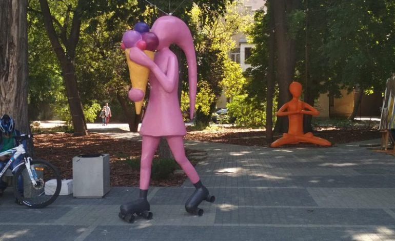 «Сидуны» в Одессе: напротив одесского Театра музкомедии появилось новое арт-пространство (фотофакт)