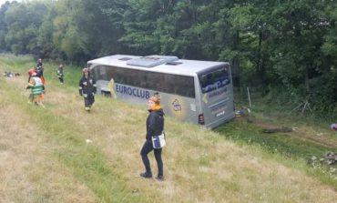 В Польше перевернулся украинский автобус, есть пострадавшие