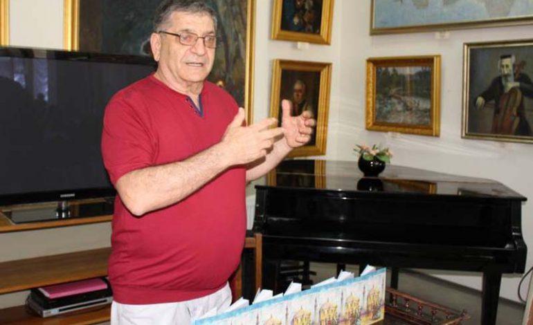 Уроженец Болграда представил свою новую книгу