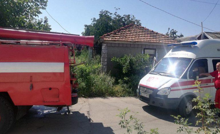 В Рени во время тушения пожара обнаружили погибшего хозяина дома
