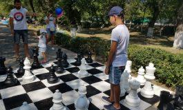 Арцизянам и гостям города предлагают сыграть в шахматы