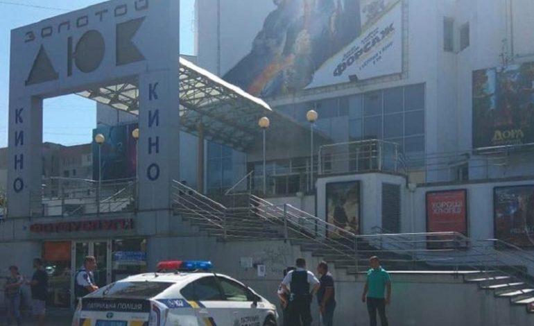 На базе одного известного одесского кинотеатра правоохранители провели антитеррористические учения