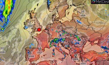 Завтра в Украине будет жара до +34