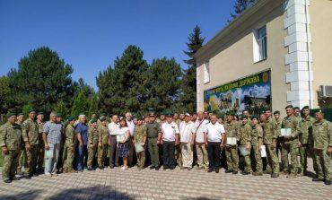 Измаильские пограничники отметили двадцать пятую годовщину со дня создания военной части