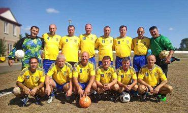 Команда ветеранов футбола Болградского района достойно выступила в Татарбунарах