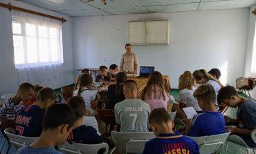 Детям в Затоке и Сергеевке рассказали, как не стать жертвой насилия