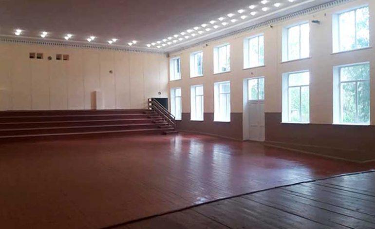 Зрительный зал Виноградненского ДК готовится принимать гостей
