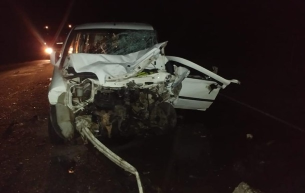 В Запорожской области в ДТП погибли четыре человека