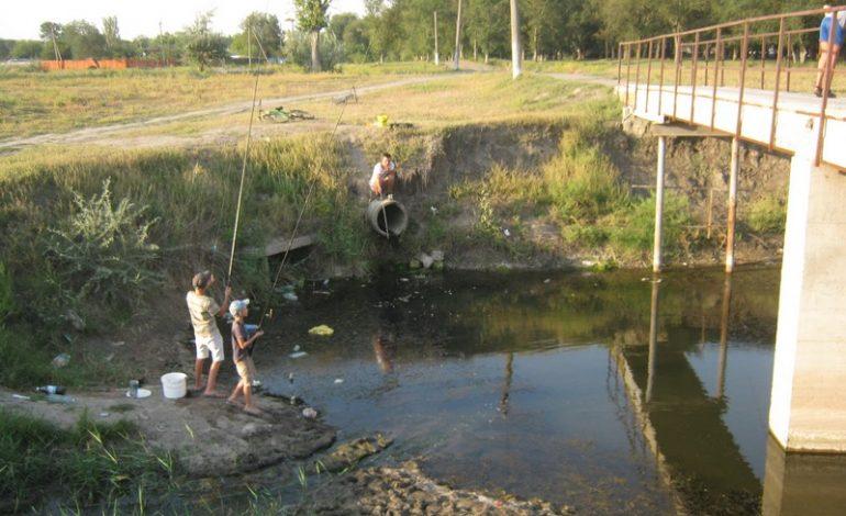 В Арцизе местные реки весьма сильно обмелели (ФОТО)
