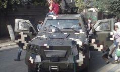 Ко Дню города Рени пограничники устроили выставку военной техники