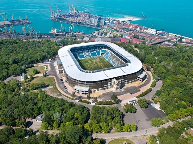 Одесский стадион «Черноморец» продадут с молотка в январе