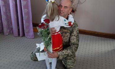 День защитника Украины: как в Арцизе дети военных поздравляли (фото)