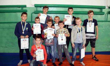 В Болграде соревновались юные борцы