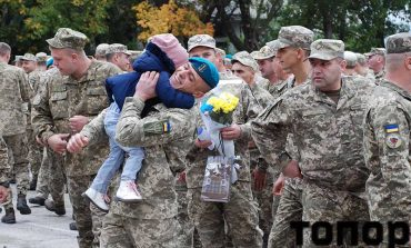 Как в Болграде встретили военных (фоторепортаж)