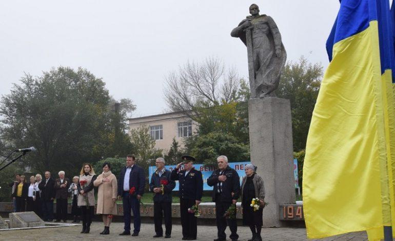 В Сарате прошел ряд мероприятий, посвященных освобождению Украины от немецко-фашистских захватчиков