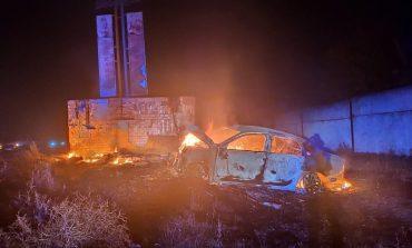 Сгорели заживо: в Килийском районе вследствие ДТП взорвался автомобиль, есть жертвы