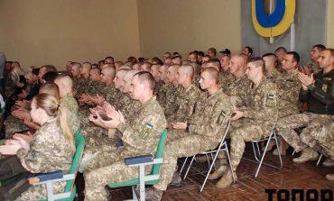 В Болграде поздравили военнослужащих