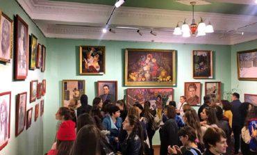 В селе Кубей Болградского района открылась картинная галерея
