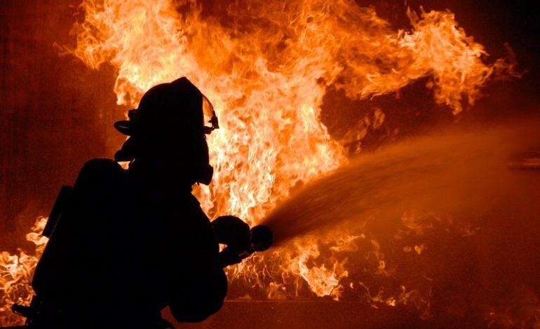 На курорте Килийского района горел рынок