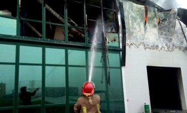 В Раздельнянском районе горело предприятие по переработке чеснока