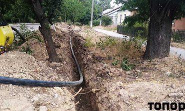 В Болграде продолжается замена водопроводных сетей
