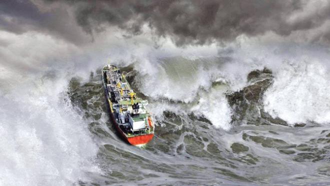 В Кельтском море во время шторма погиб украинский моряк