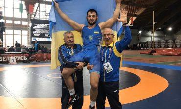 Уроженец села Заря Саратского района завоевал золото на Чемпионате по вольной борьбе в Беларуси