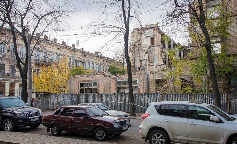 Как выглядит квартал бывшей гостиницы «Славянская» перед сносом (фото)
