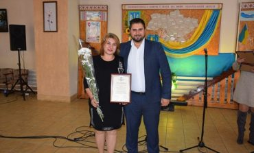 В Саратском районе поздравили культработников