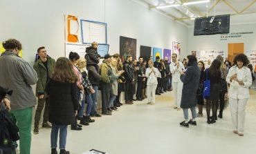 Необычный перформанс завершил масштабную выставку в одесском музее (фото)
